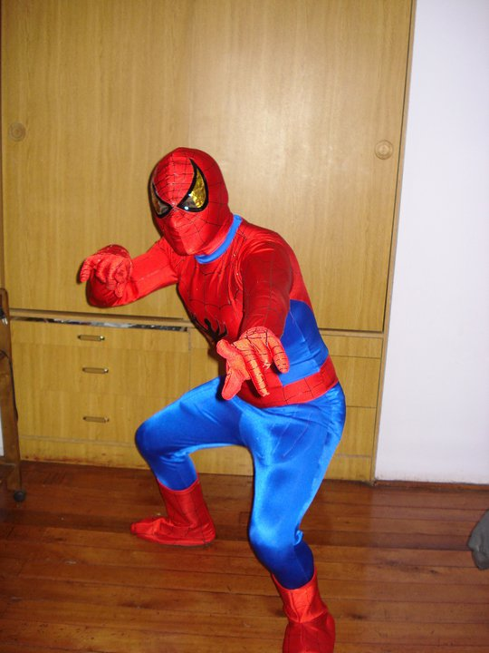 SPIDERMAN MUSCULOSO