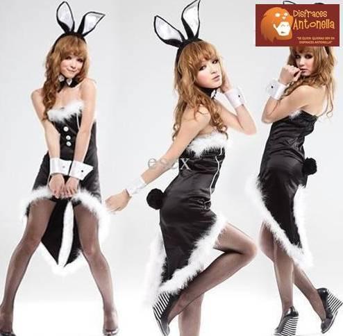Disfraz sexy PlayBoy Bunny - elgastronomosexyes